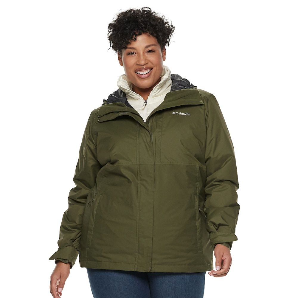 fb233851be4 Plus Size Columbia Ramona Falls Hooded 3-in-1 Jacket