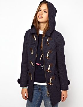 10  images about coats on Pinterest | Duffle coat Alexa chung and