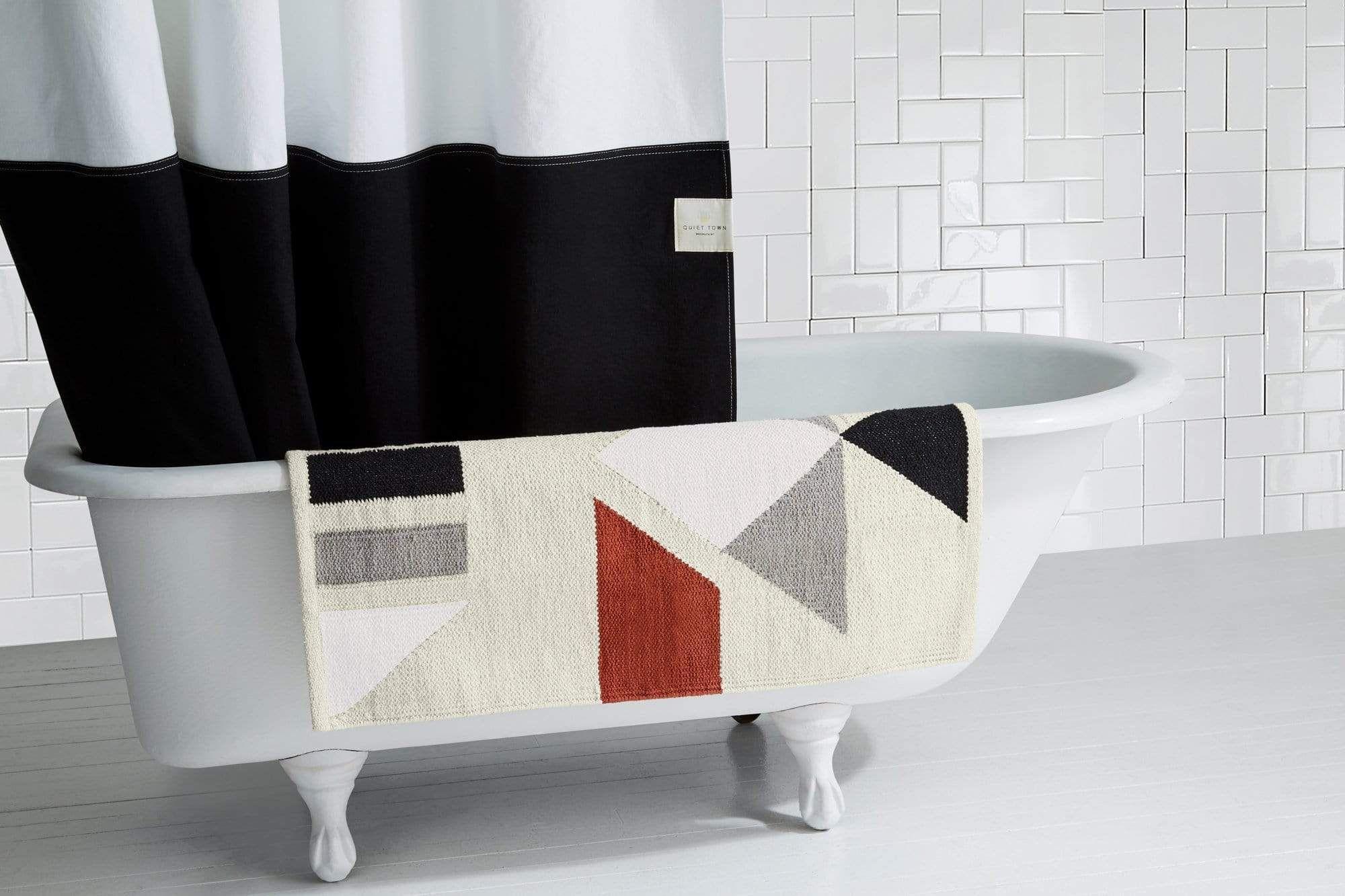 Mendocino Clay Bath Rug In 2020 Classy Rugs Bath Rug Bath Accessories Design [ 1333 x 2000 Pixel ]