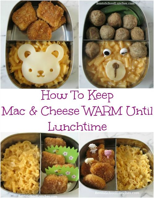 How To Keep Macaroni and Cheese Warm Until Lunchtime ...