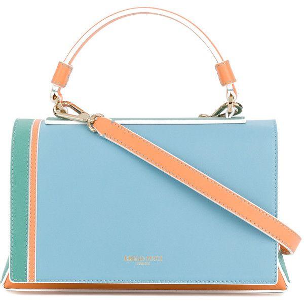 colour-block shoulder bag - Blue Emilio Pucci wuqgh