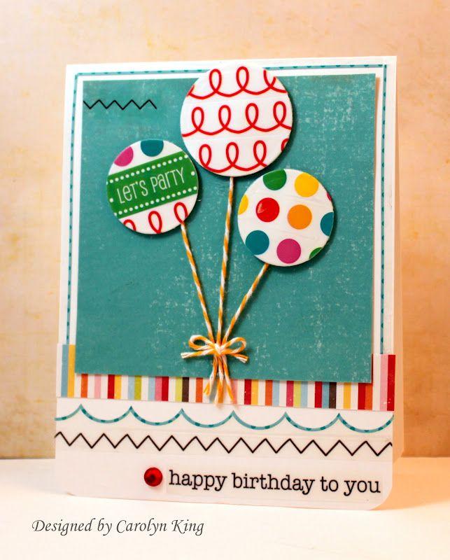 Happy Birthday Baby Birthday Card Card Making Creating Keepsakes