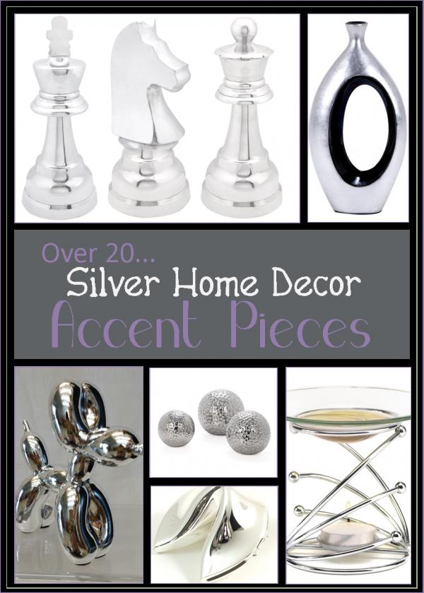25 Fun Silver Home Decor Accent Pieces Accent Decor Accent Pieces Home Decor