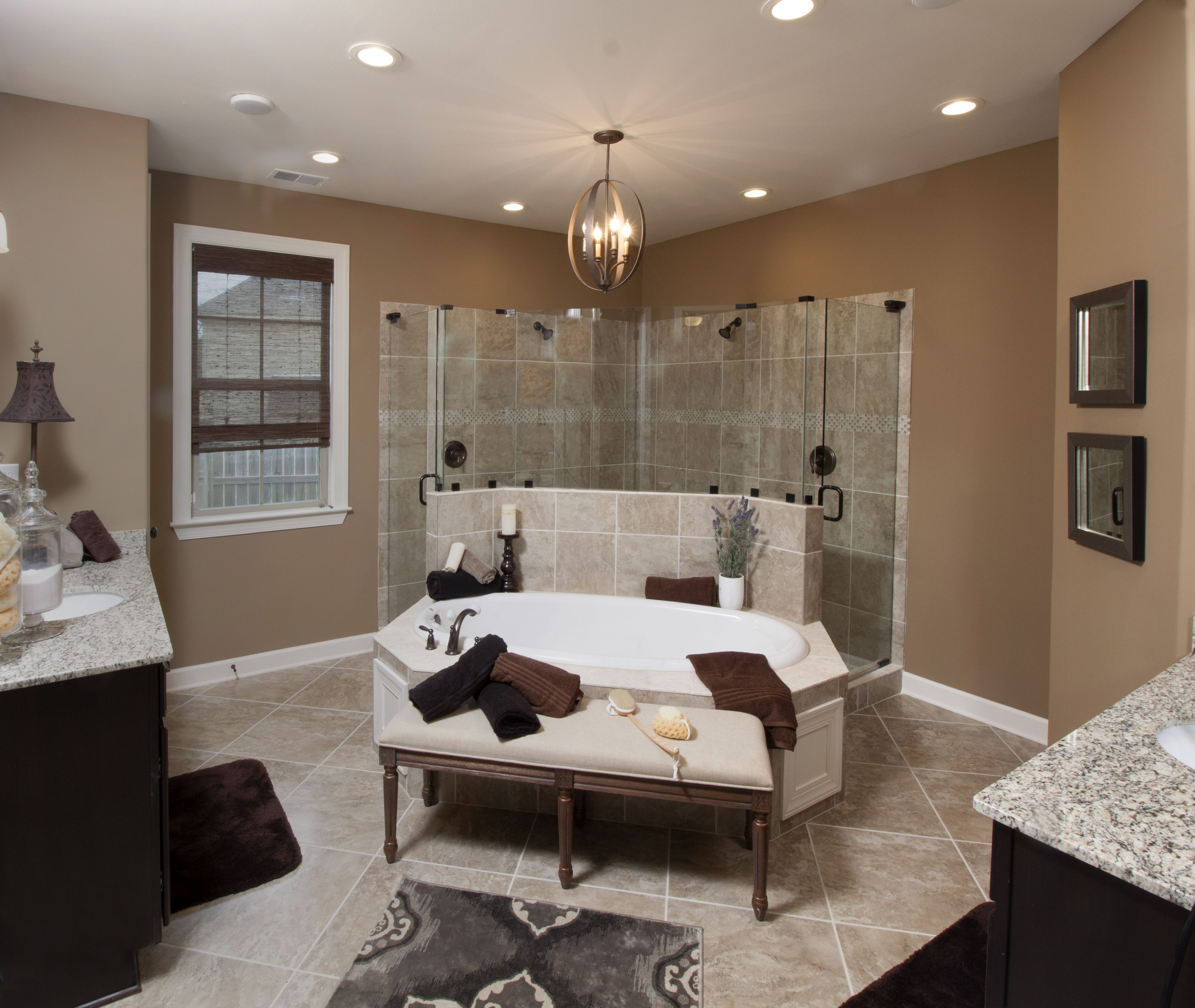 Regency homebuilders open concept living large master bathroom regency homebuilders open concept living large master bathroom tile ceramic tile dailygadgetfo Gallery