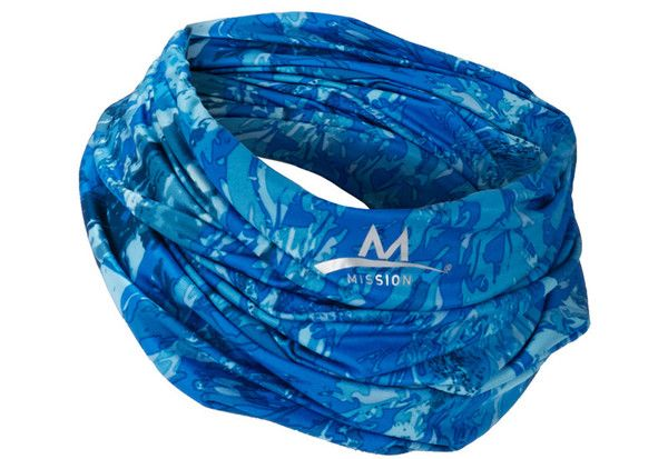 Cooling Neck Gaiter Blue Neck Gaiter Gaiters Cool Stuff