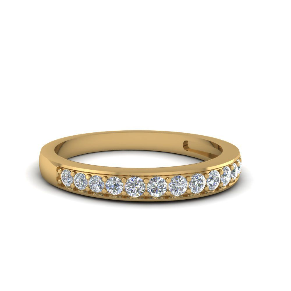 22++ Pave wedding band yellow gold information