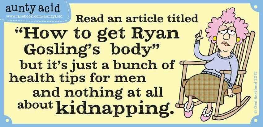 How to get Ryan Gosling's body...
