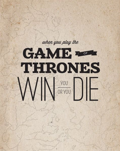 A Song of Ice and Fire Typography Posters - Imgur