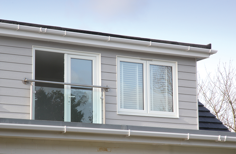Cedral Cement Fibre Weatherboarding From Marley Eternit Gives The Renovated House Some