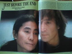 """""""love-is-real-is-love:  From Life Magazine, February 1981.Exclusive: John Lennon at Home I tried scanning the photographs, but the magazine was too large, but enjoy anyway.   """""""