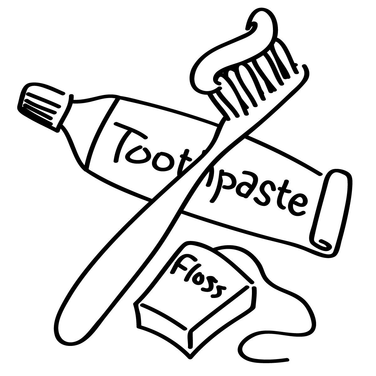 Dental Hygiene Coloring Pages For Kids | Resume Samples | Pinterest ...