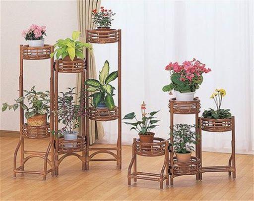 Rak Khusus Untuk Pot Bunga Dan Pot Tanaman Hias Bunga Gambar Bunga Pot Bunga