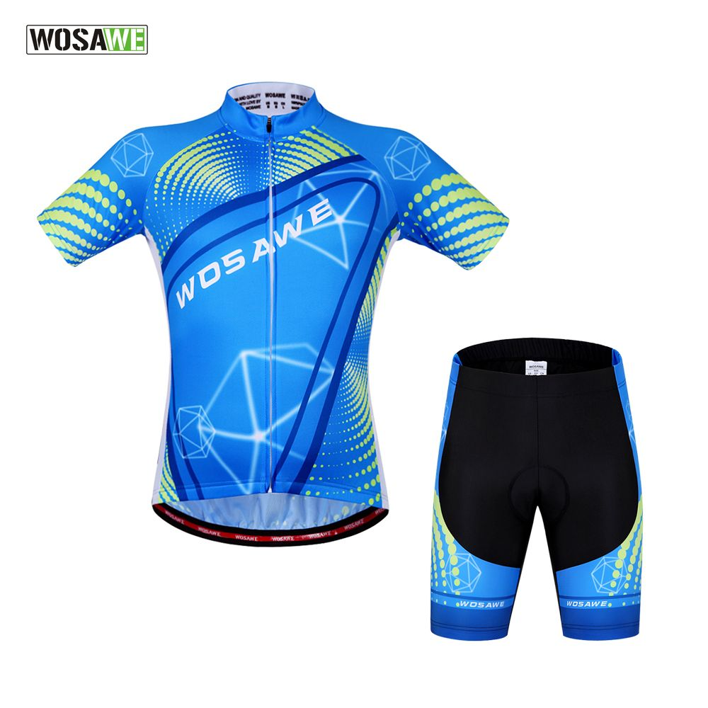 WOSAWE New Arrival Mountain Racing Bike Cycling Clothing Set Breathable Bicycle Cycling Jerseys Ciclismo for men