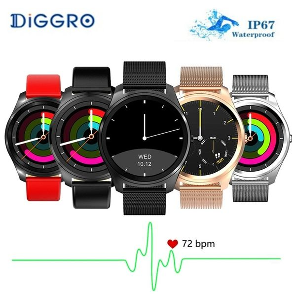 Diggro DI03 Bluetooth Siri Smart watch MTK2502C 128MB 64MB
