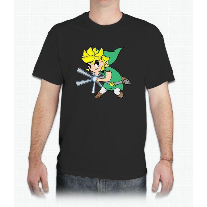 Zelda Ball Pikachu - Mens T-Shirt