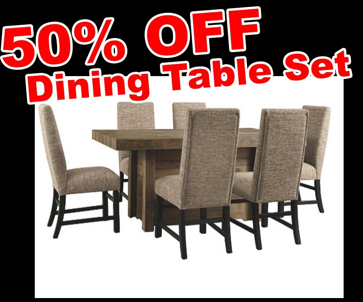 Cyber Monday Sale 50 OFF Discount Sommerford 5 Piece Dining Table Set