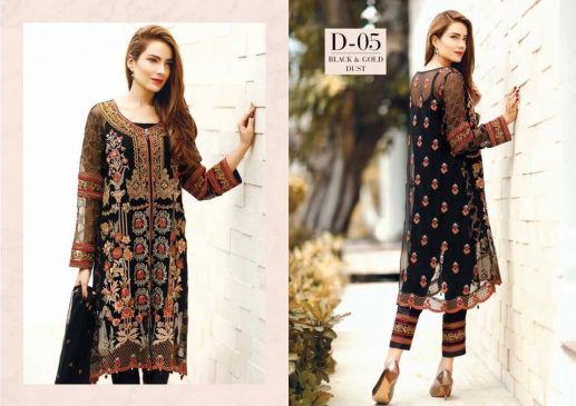 Baroque Premium Lawn Spring/Summer Collection 2017 | STYLEE.PK
