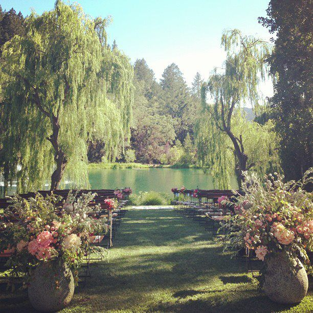 Wedding Venues In Northern California: Wedding At Black Swan Lake By Jubilee Lau Events And