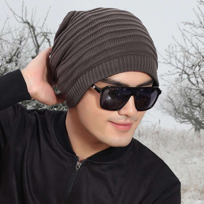 Cappelli Di Lana Uomo Ai Ferri Schemi f594f815336a