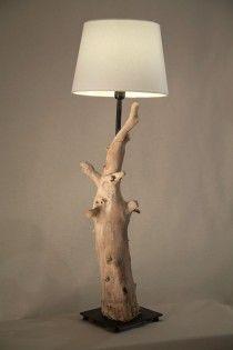 cirerer handmade driftwood lamp  natural design