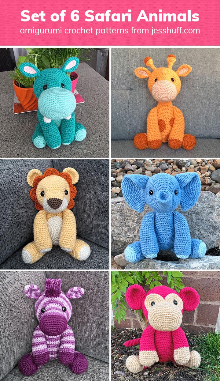 How To Crochet an Amigurumi Rabbit | Crochet zebra pattern ... | 1244x720