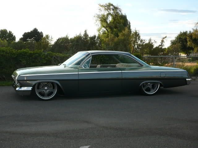 1962 Bel Air Bubble Top Lowrod For Sale Custom Muscle Cars Classic Cars Vintage Bel Air