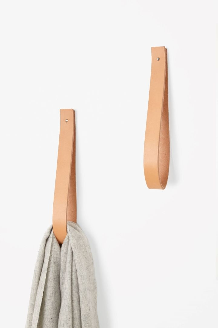 cos leather strap hang it pinterest leder k che und m bel. Black Bedroom Furniture Sets. Home Design Ideas
