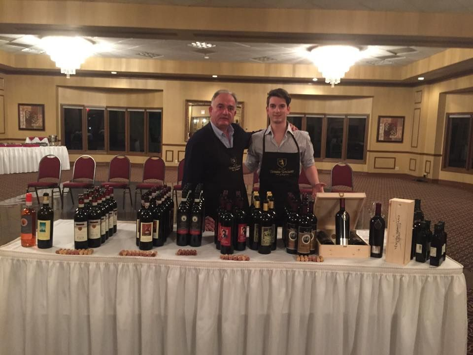 Flashback ! Part of being a dad is teaching the balance between wine tasting in the States and wine tasting in Italy ! #torcianowine #emanuelebartolomeogiachi # usawinetasting #italywinetasting #wineclasstour www.torciano.com