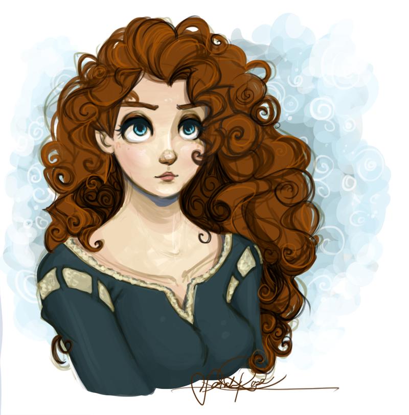 Merida By Curly Qs On Deviantart Disney Brave Disney Drawings Disney Princess Merida