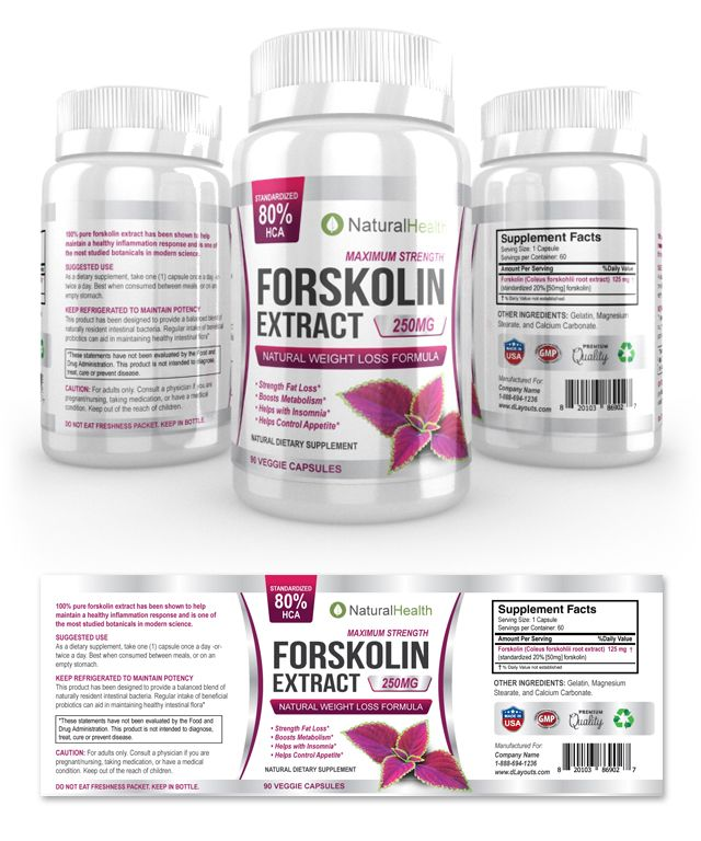 Forskolin diet aid