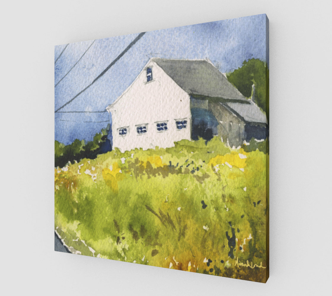 The Goldenrod Leads the Way Gallery Wrapped Canvas | Big Orange Cat ...