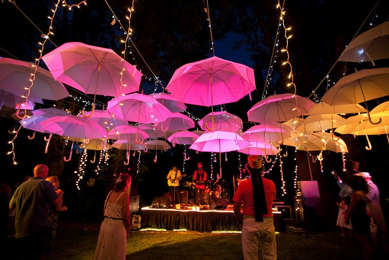 Lacey davids mad hatter garden tea party with an umbrella cannot get over this reception decor under my umbrella ella junglespirit Choice Image