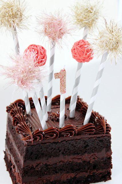 DIY these super cute cake 'fireworks!'
