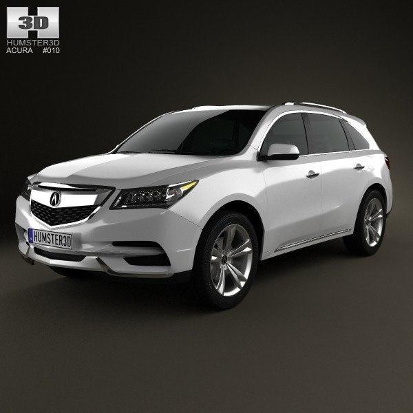 Acura MDX 2014 3D Model #AD ,#MDX#Acura#Model