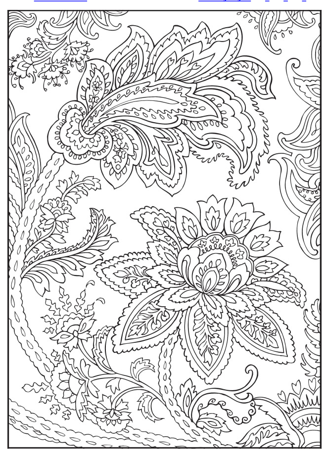 Welcome to Dover Publications | Designs coloring books ...