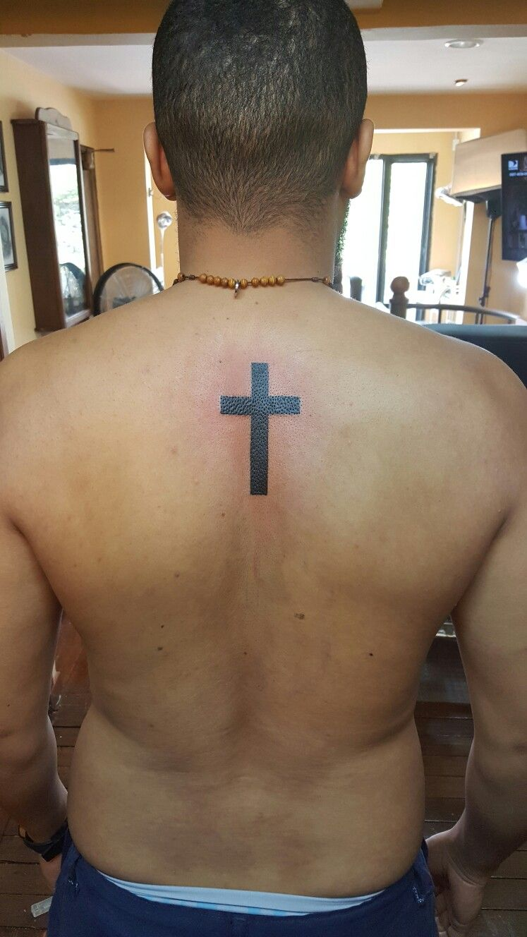 Tatuaje Cruz Espalda Tatuaje De Cruz Con Alas Tatuajes Cruz Tatuaje De Cruz