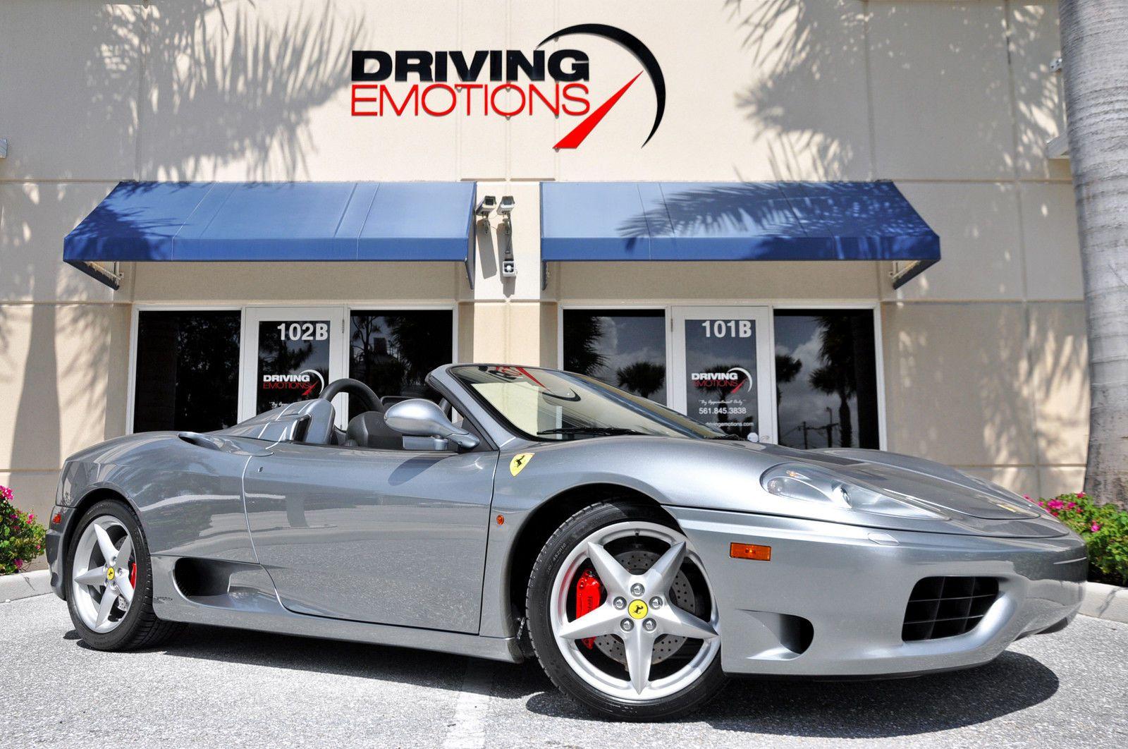 Car Brand Auctioned Ferrari 360 Spider F1 2001 Car Model Ferrari