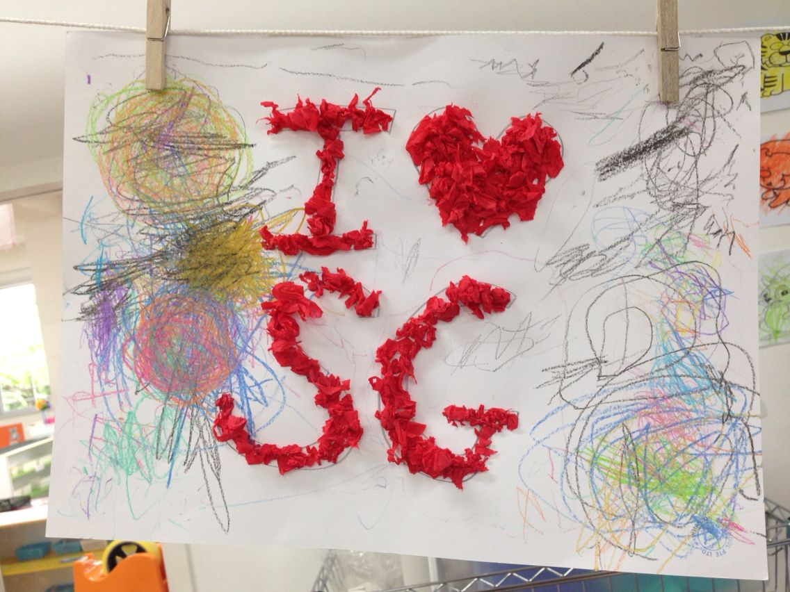 I Love Sg Craft Singapore National Day Singapore National Day
