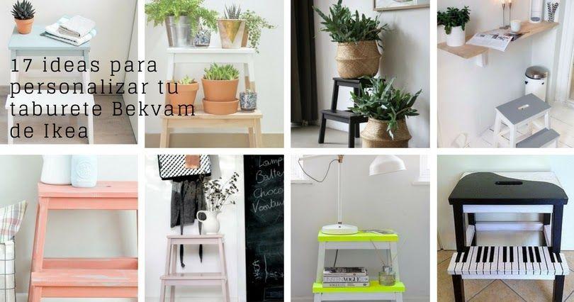 17 ideas para personalizar tu taburete Bekvam de Ikea   Ikea