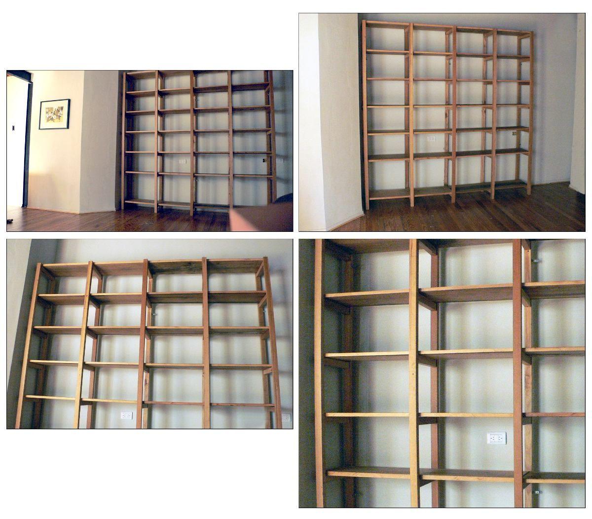 Bibliotecas estanterias a medida maderas antiguas capital federal en mercadolibre - Estanterias a medida ...