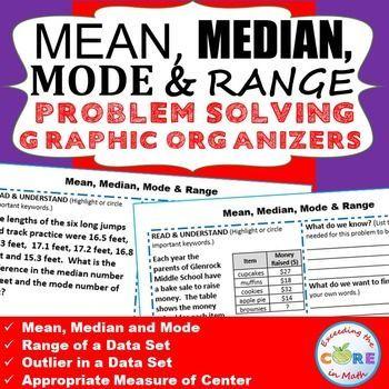 mean median mode word problems pdf