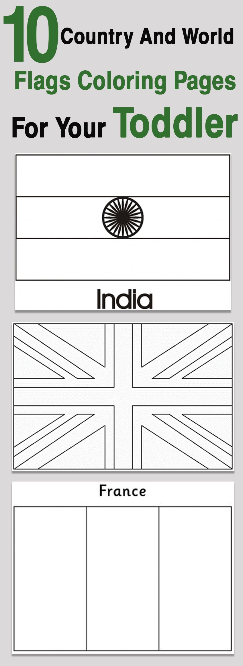 Top 10 Country And World Flags Coloring Pages For Your Toddler Flag Coloring Pages Flags Of The World Different Country Flags