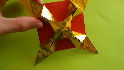 Origami Maniacs: Shooting Star By Martin Sejer Andersen