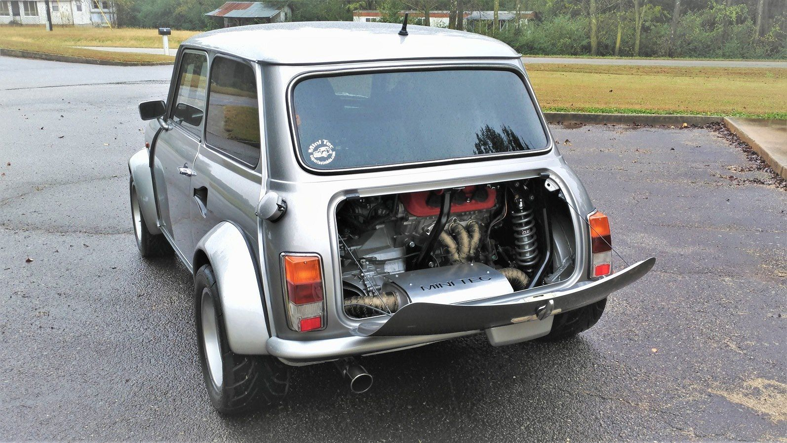 Mini with a Supercharged J35 V6 – Engine Swap Depot | Mini