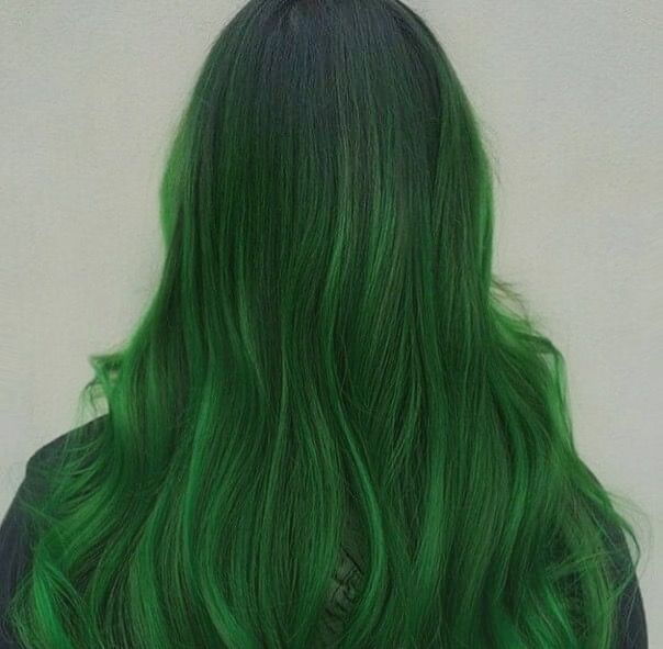 Green Hair, Sailor Pluto, Hair
