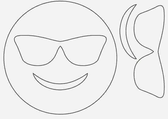 Gozluklu Kalibi Desenler Sanat Etkinlikleri Emoji