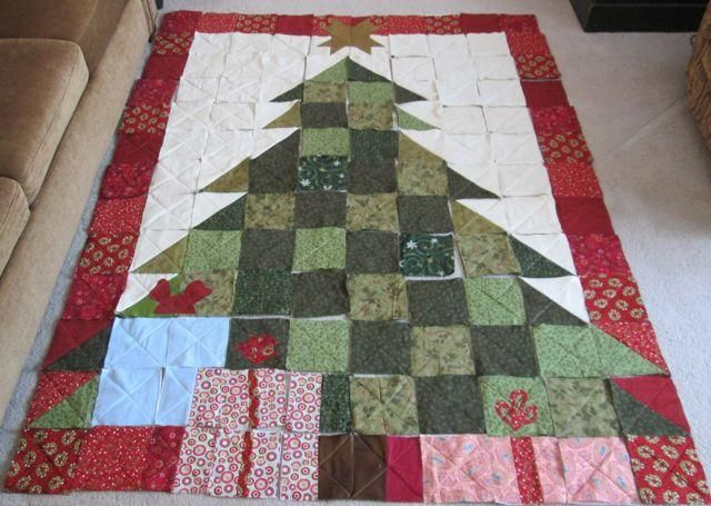 Christmastree1jpg Quilts Pinterest Christmas tree quilt