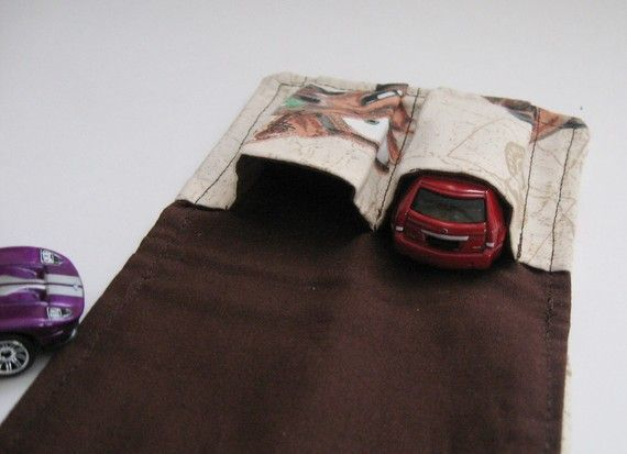 The ORIGINAL Car Wallet  Disney Cars by MyHappyHobbies on Etsy, $5.50