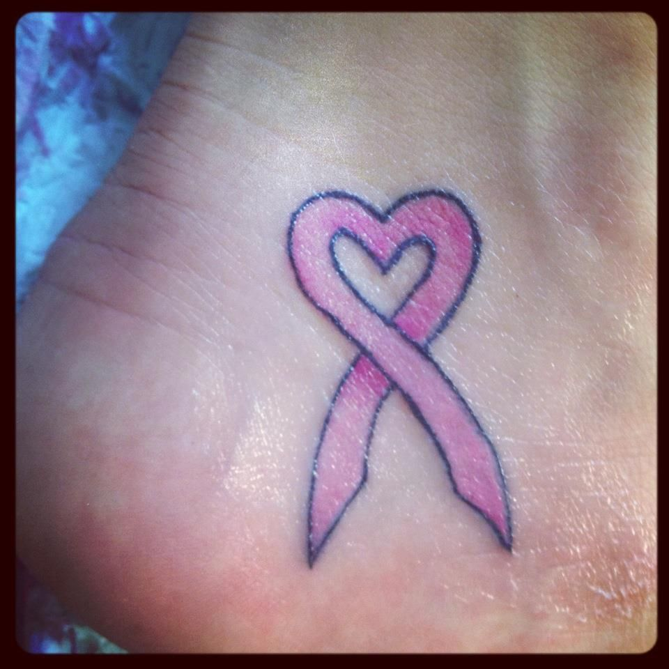 Tatuaje Lazo Cancer breast cancer awareness month. in honor of my mom. #breastcancer