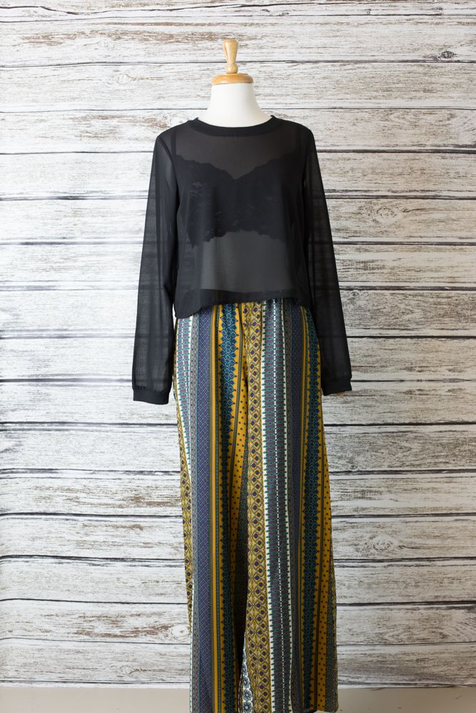Moroccan Bazaar Pants // $42.99 @ American Threads